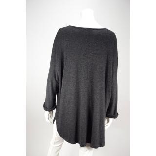 917606d0e04d ... AKH Damen Tunika Longshirt im Muster-Mix aus Viskose Schwarz 44 46 ...