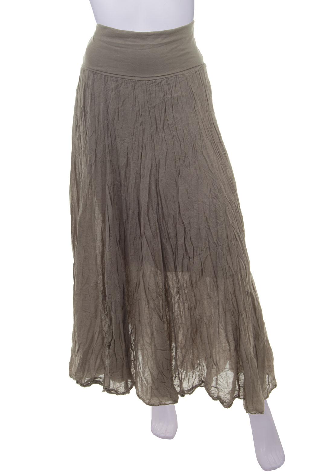 Maxirock Damen Baumwolle in vielen Farben mit elastischer Taille 38 4,  34,90 € 6c4e19f982