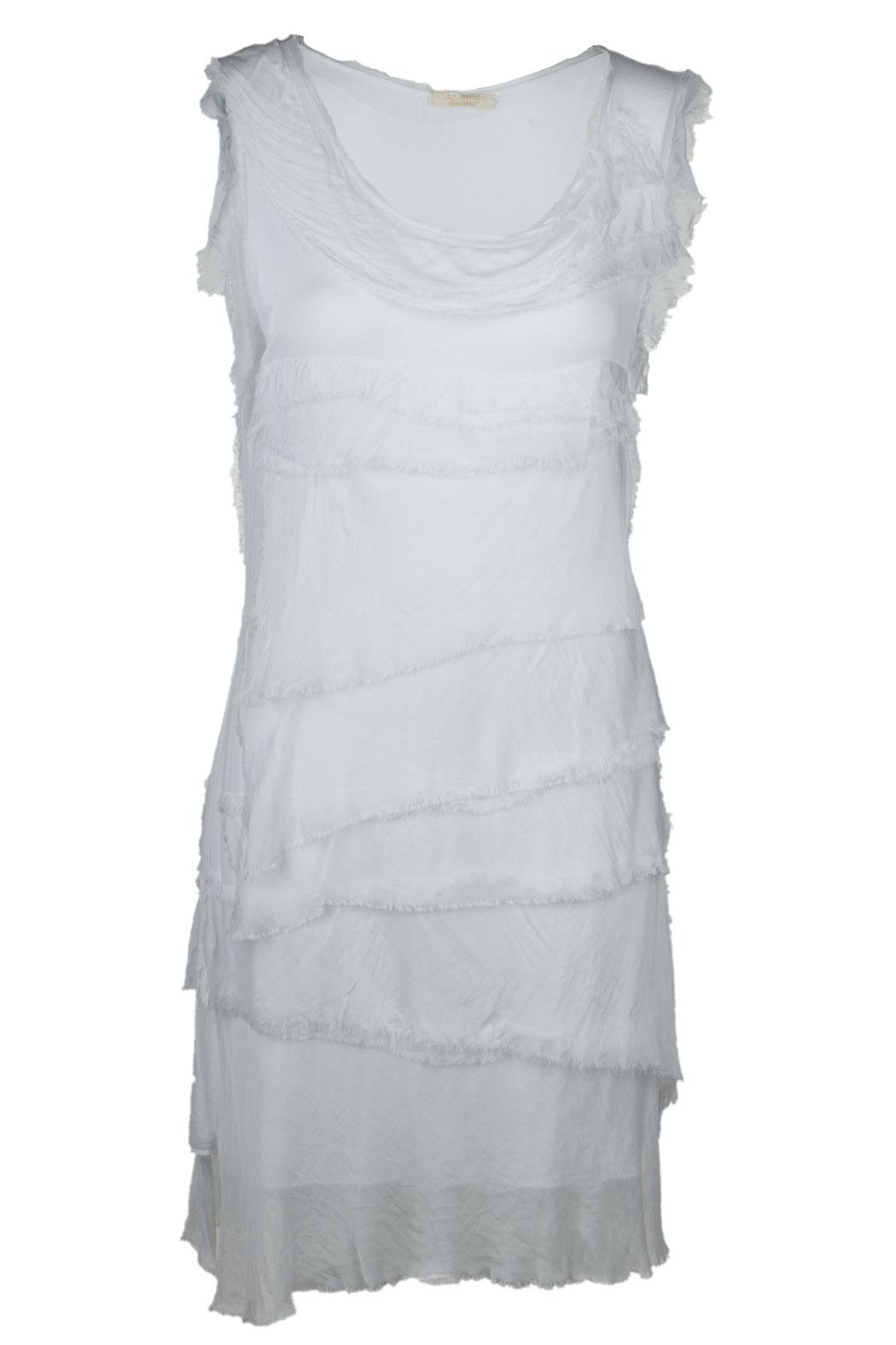 Leichtes Sommerkleid für Damen mit Seide Figurbetont Viele Farben ...