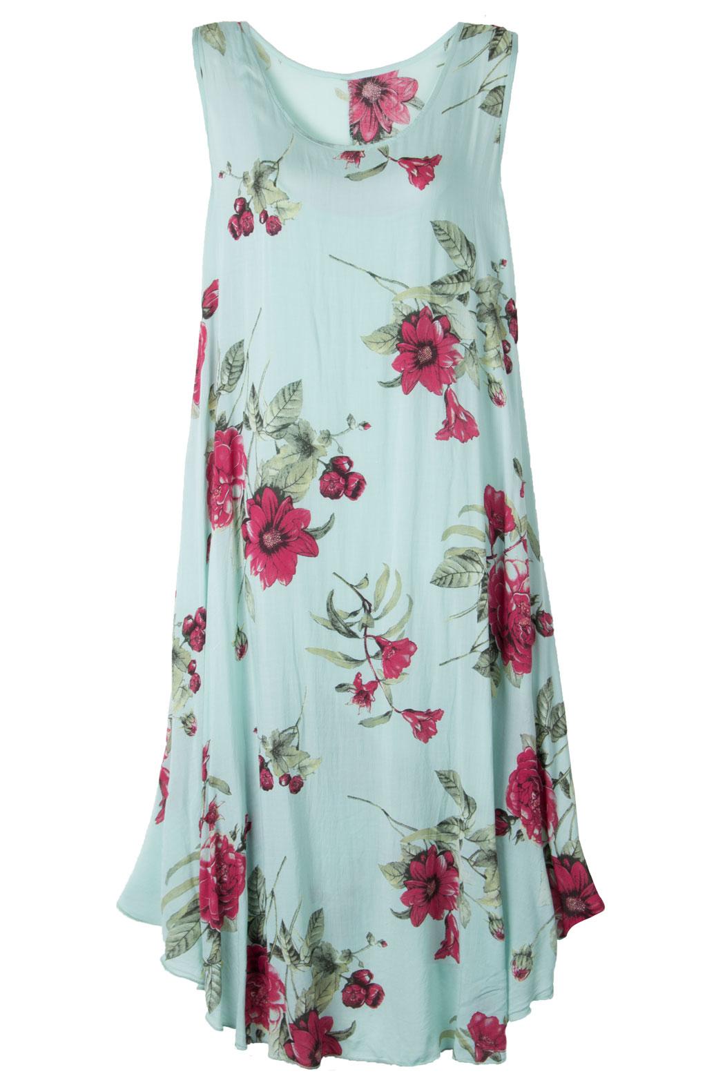 Leichtes Sommerkleid für Damen Maxi-Kleid Viskose Viele ...